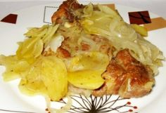 Óbécsi tarja Cauliflower, Macaroni And Cheese, Cabbage, Curry, Pork, Food And Drink, Cooking Recipes, Chicken, Vegetables