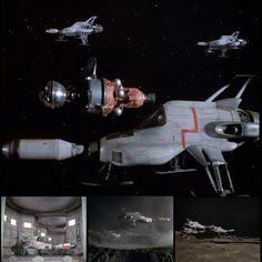 Interceptors from UFO series Ufo Tv Series, Original Tv Series, Joe 90, Thunderbirds Are Go, Sci Fi Tv Shows, Science Fiction Series, The Originals Tv, Sci Fi Models, Uk Tv