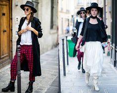 O chapéu de aba reta é um queridinho da moda (Foto: Imaxtree)