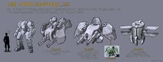 ArtStation - Mecha Rough Sketch _ 02, Jae seung Cho