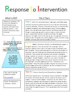 The 2 Teaching Divas: Response to Intervention Intervention Specialist, Response To Intervention, No Response, Reading Intervention Classroom, Elementary School Counseling, School Social Work, School Counselor, Elementary Math, Behavior Interventions