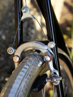Mafac Racer, classic center-pull, with Honjo hammered fenders