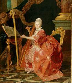 Madame Victoria ,otra de las intrigantes Tías de Luis XVI.