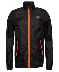 Superdry Active Convertible Jacket In Black Superdry Mens, Unisex Baby Clothes, Lightweight Jacket, Jackets Online, Trendy Plus Size, Convertible, Adidas Jacket, Active Wear, Coats