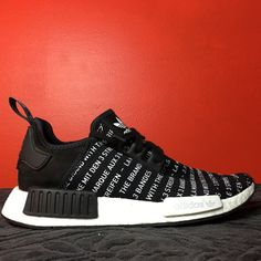 ea0753478bee57 Adidas NMD Three Stripes Black Adidas Nmd R1