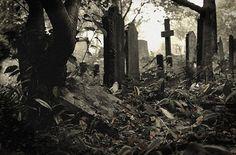 Leyendas urbanas cortas: Los cementerios