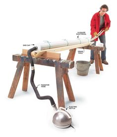 Q & A: Steam Bending Gear  Q: What do I need to know before building a simple steam-bending rig?  A: Steam bending doesn't require sophisticated equipment. For a single bending project, you can quickly cobble together an apparatus from ordinary materials. The box. Build a box that fits your pieces out of any untreated solid wood or exterior plywood. Add a hinged or lift-off lid, but don't make …