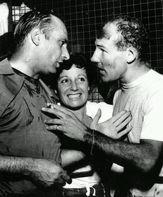 Juan Manuel Fangio & Stirling Moss - A picture for the ages, two of the…
