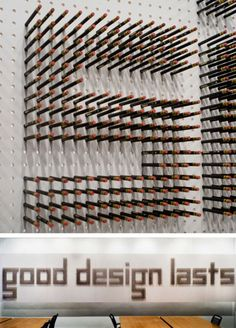 2804 Pencils to create signage, typography, signage design, office design, Spagnola and Associates