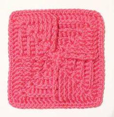 """Box Fan 6"""" Block Free Crochet Pattern"""