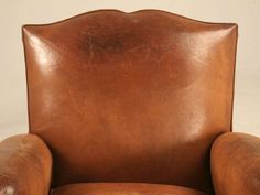 Fully Conserved Pair of Original 1930's French Moustache Back Club Chairs | From a unique collection of antique and modern club chairs at https://www.1stdibs.com/furniture/seating/club-chairs/