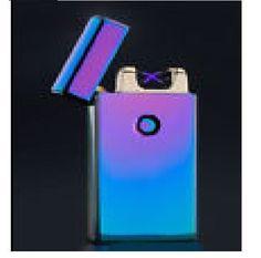 Dual X Beam Plasma Lighter USB Plazmatic Arc LIT #6 Elementium Bright Neo NEW #JinLun