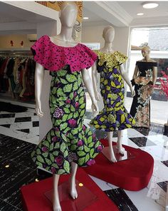 Keep Up With Trends In These Stylish Ankara Styles - Ankara collections brings the latest high street fashion online African Print Dresses, African Wear, African Attire, African Fashion Dresses, African Dress, African Prints, African Outfits, African Clothes, Ankara Fashion