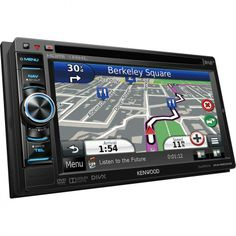 """Kenwood DNX-4250DAB 6.1"""" WVGA, Navigation System with built-in DAB Tuner !!"""