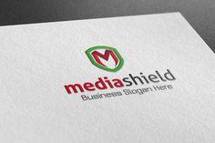 Check out Media Shield Style Logo by BDThemes Ltd on Creative Market