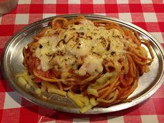パンチョ:ナポリタン+チーズ