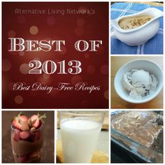 Best of 2013 Collage- Dairy Free Recipes