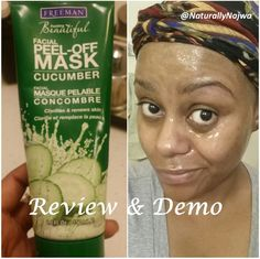 Beauty: Review & Demo Freemans Cucumber Peel-Off Mask
