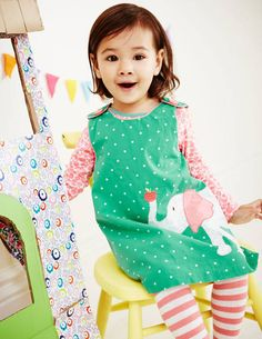 Appliqué Pinnie 73144 Play Sets at Boden