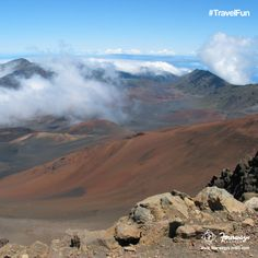 Fire up your adrenaline and awaken your curiosityat Haleakala National Park in #Hawaii Repin