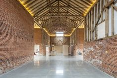 """This incredible barn conversion on the border of Essex and Suffolk extends to over 5,500 sq ft and is, in the words of the architect behind the design, """"of cathedral-like proportions"""". The conversion was overseen by David Nossiter, a celebrated London-based architect, and incorporates five bedrooms, a bathroom, a living room and dining room all […]"""