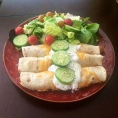 Easy Chicken Enchiladas - Lots of reviewers used enchilada sauce instead of salsa. They're definitely on to something.