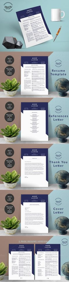 Ande Luxxe Resume Template Ande Luxxe Resume Template - resume templates apple
