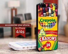 Melting Crayola Crayons - For iPhone 4 / 4s Case