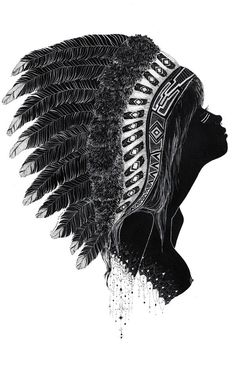 Aiyana by Charmaine Olivia--- I don't know it this is on a shirt, but if it is, somewhere, i want it