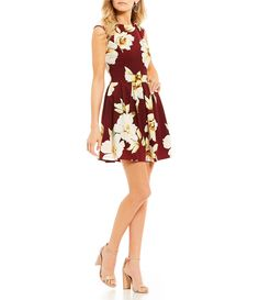 Shop for Honey and Rosie Floral Print Fit-And-Flare Dress at Dillards.com. Visit Dillards.com to find clothing, accessories, shoes, cosmetics & more. The Style of Your Life.