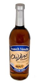 DaVinci SF flavor syrups - They make about 50 different kinds of sf syrup...I have A LOT of them.  Use them for my protein shakes, baking, adding to coffee or espresso.