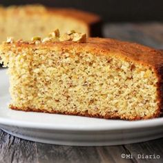 Queque de almendras y damascos Banana Bread, Bakery, Cheesecake, Health Fitness, Gluten, Queso, Desserts, Food, Salsa