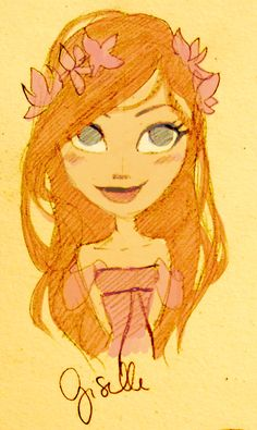 Giselle by epsilonya.deviantart.com on @deviantART