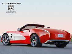 Chevrolet Corvette 'Route 66' Edition Design Study (by IDD)
