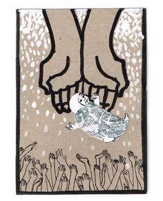 """Autorka: Monika Krześniak  Poprosiliśmy studentów z Pracowni Ilustracji prof. Zygmunta Januszewskiego na Wydziale Grafiki ASP w Warszawie o projekty kartek świątecznych z życzeniami dla świata – swoimi, ale i w naszym, """"Tygodnikowym"""" imieniu."""
