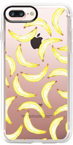 Casetify Protective iPhone 7 Plus Case and iPhone 7 Cases. Other Fruit iPhone Covers - Gone Bananas by Lisa Argyropoulos | Casetify