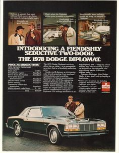 dodge Diplomat coupe 1978
