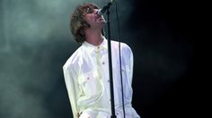 Liam Gallagher, of Oasis, at the concert at Knebworth in Hertfordshire. Oasis Band, Liam Gallagher Oasis, Council Estate, Liam And Noel, Britpop, Youth Culture, Best Memories, Crowd, Singer