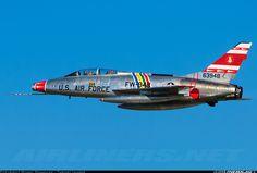 North American F-100F Super Sabre aircraft