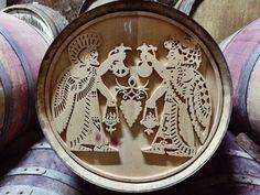 Barrel art at Voskevaz winery, Armenia.
