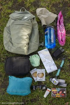 There are ten daypack essentials that every hiker should bring ©Anywhere at Home