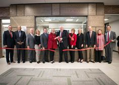 Austin Peay State University College of Business holds Ribbon Cutting Ceremony for Larry W. Carroll Financial Trading Center