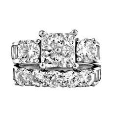 Vanessa: 8.15ct Russian Ice on Fire Diamond CZ 2 Piece Bridal Wedding Ring Set, 3109A sz 4.0, 925 Sterling Silver 1000 Jewels,http://www.amazon.com/dp/B00JBJ88SM/ref=cm_sw_r_pi_dp_y7KHtb128RK6561C