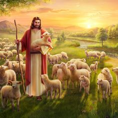 The Parable of the Lost Sheep: Jesus' Will Behind the Parable. The Lord Jesus' each word carries God's disposition and manifests the identity of God. Watch it now to learn about the mystery within the parable of the lost sheep. Jesus Christ Painting, Jesus Art, Jesus Wallpaper, Jesus Our Savior, Jesus Is Lord, Image Jesus, Jesus Photo, Pictures Of Jesus Christ, Première Communion