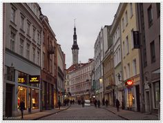 Weekend in Tallinn part I Weekend w Tallinnie cz. I