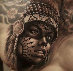 Half Black Make Up and Tidy Headdress Tribal Scorpion Tattoo, Tribal Lion Tattoo, Small Tribal Tattoos, Tribal Turtle Tattoos, Skull Hand Tattoo, Weird Tattoos, Top Tattoos, Badass Tattoos, Body Art Tattoos