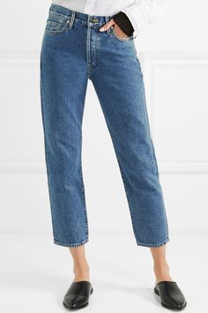 7e293b73b8 Goldsign - The Low Slung cropped mid-rise straight-leg jeans