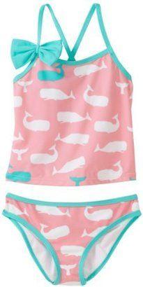 ShopStyle: Hatley Girls 2-6X Whale Tankini Swimwear