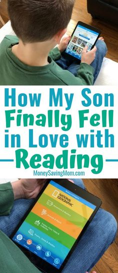 This online reading program made my son fall in LOVE with reading after SO many years of me hoping and praying he would eventually learn to enjoy reading! #reading #readingtips #readingtipsforkids