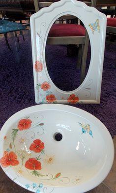 Ręcznie robiona umywalka z manufaktury Riwal. Handmade basins.